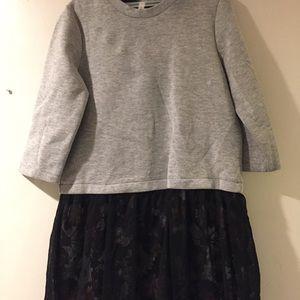 Warm cotton dress